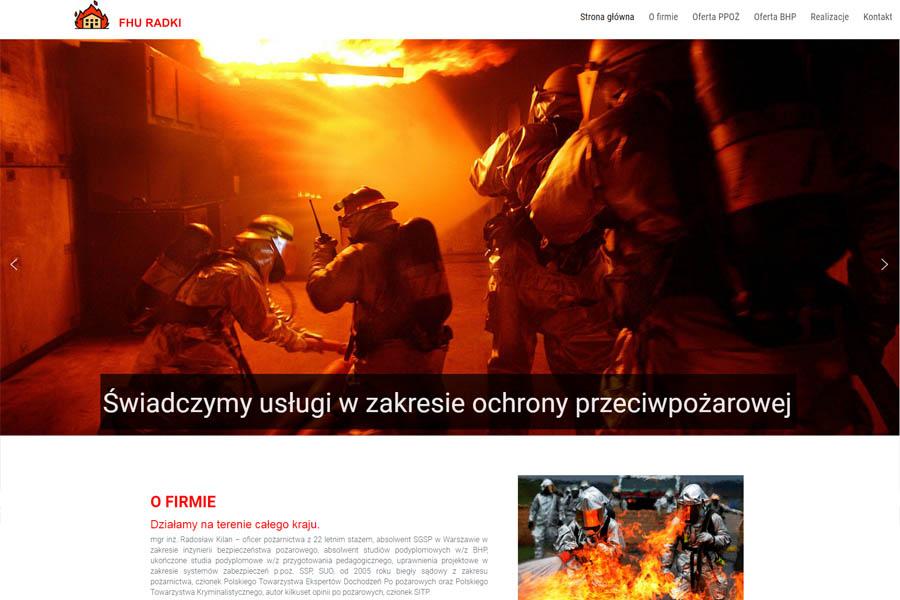 szkolenia bhp ppoż Radosław kilan