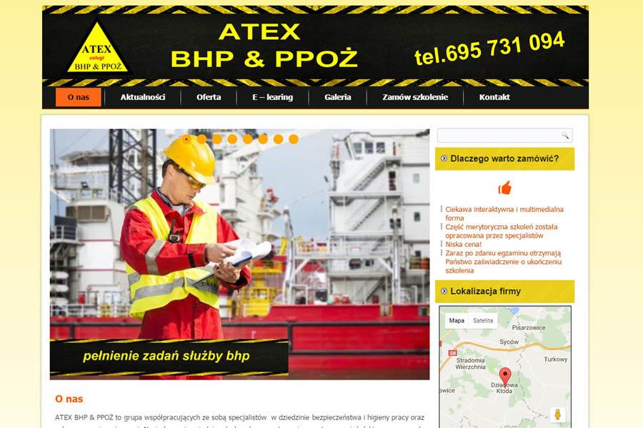 ATEX BHP& PPOŻ